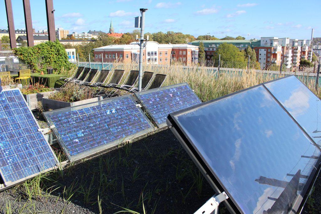 Solar Panels White Arkitekter office